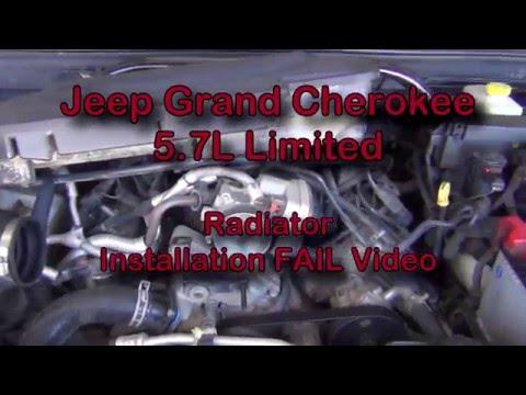 2005 Jeep Grand Cherokee - Radiator Replacement FAIL