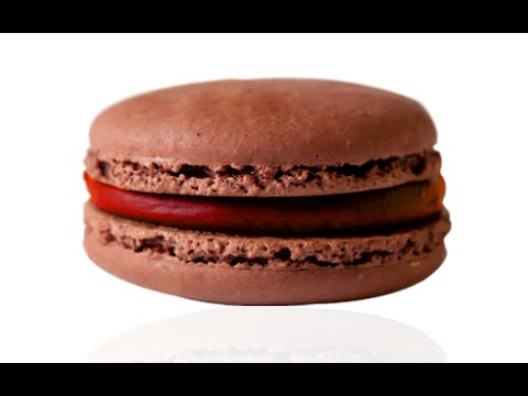 EASY CHOCOLATE MACARON with RASPBERRY GANACHE (FOOLPROOF TUTORIAL)