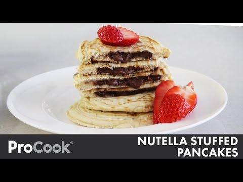 How to Make Nutella-Stuffed Pancakes | Sweet Treat Recipe