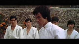 Bruce Lee Enter the Dragon Fight