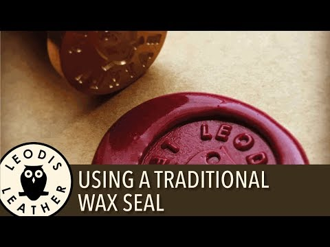 Using a Traditional Wax Seal from HEX n HIT 4K