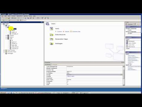 Cognos Tutorial - 4 Report Studio - Types of Objects