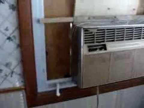 crank out window air conditioner install