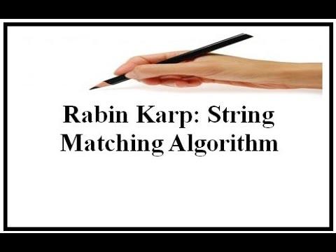 Rabin Karp String Matching Algorithm (English+Hindi)