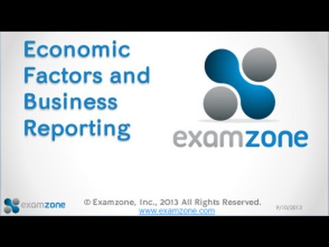 Economic Factors and Business Reporting