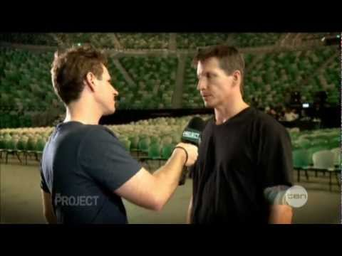 Matchbox 20 interview on The Project (2012)