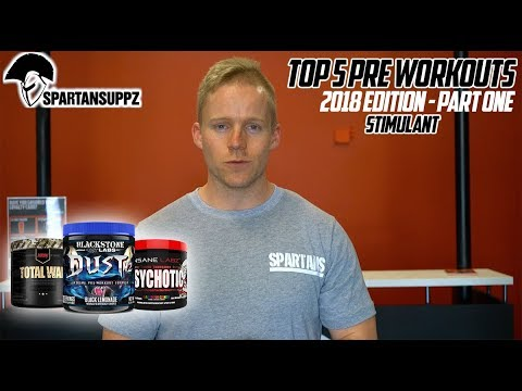 Top 5 Best Pre Workout Supplements (Stimulant) 2018 Edition - Part One