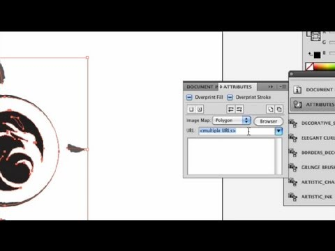 How to Link an Image to a URL in Illustrator : Illustrator Tutorials