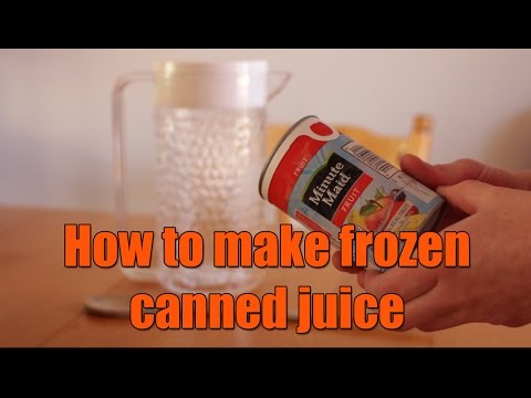 The fun way to prepare juice