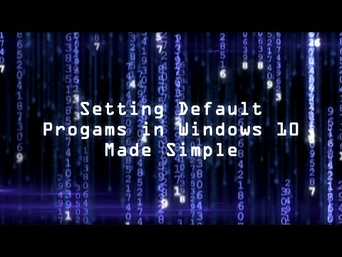 Setting Default Programs in Windows 10 Made Simple
