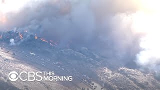Southern California wildfire threats far from over due to winds