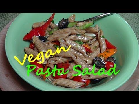 Pasta Salad with Balsamic Vinaigrette - Vegan Recipe