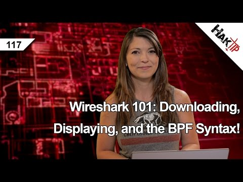 Wireshark 101: Downloading, Displaying, and the BPF Syntax! HakTip 117