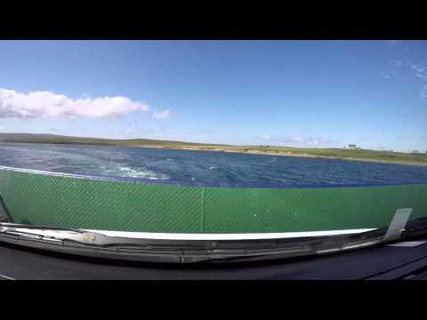 Fähre von Yell nach Unst auf den Shetland-Inseln