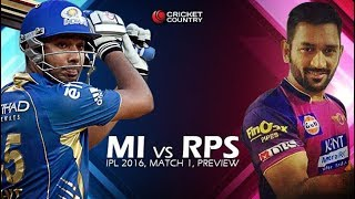 LIVE IPLT20 2017: Mumbai Indians vs Rising Pune Supergiant match preview on Cric Gully