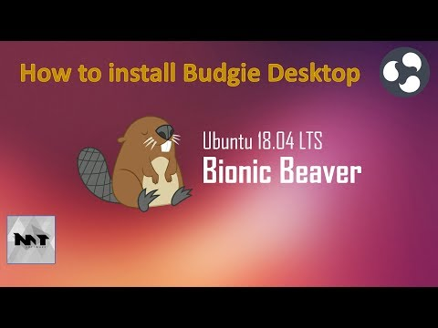 How to install Budgie Desktop on Ubuntu 18.04