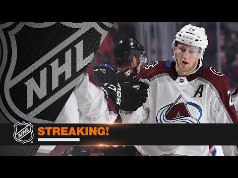 Colorado Avalanche's winning streak tops 10 games, longest in NHL this season