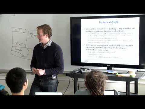 Jacob I. Torrey: From Kernel to VMM