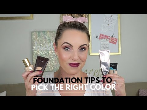 How To: Pick the perfect foundation color for you || Quick Tip - Elle Leary Aristry