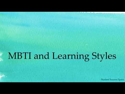 MBTI and Learning Styles