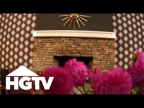 How to Cover Walls with Fabric - HGTV Video