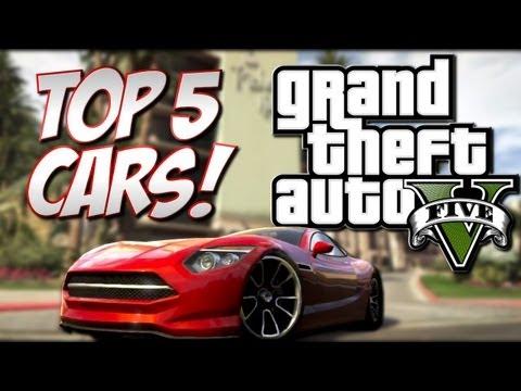 GTA 5 - Top 5 Cars (Grand Theft Auto 5