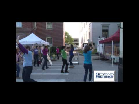 Concord Public Library Flash Mob