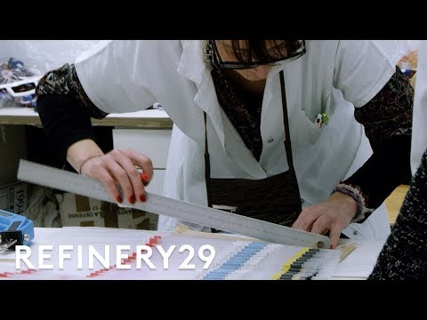 How a Dior Dress is Made | Visionaire | Refinery29