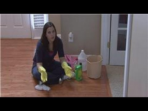 Housekeeping Tips : How to Get Glue Off of Hardwood Floors