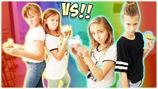 CUPCAKE BAKE OFF!! BF VS. BF!! / SmellyBellyTV