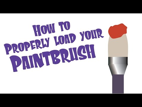 Properly Loading Your Paintbrush