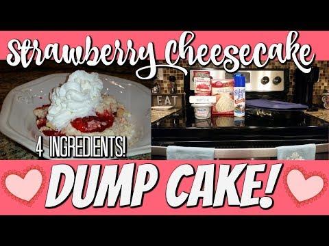 STRAWBERRY CHEESECAKE DUMP CAKE~FOODIE FRIDAYS!