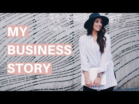MY BUSINESS STORY | How I started, got clients & my stuggles