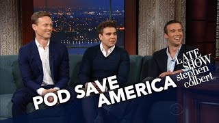 pod Save America Hosts Have Sympathy For Sean Spicer