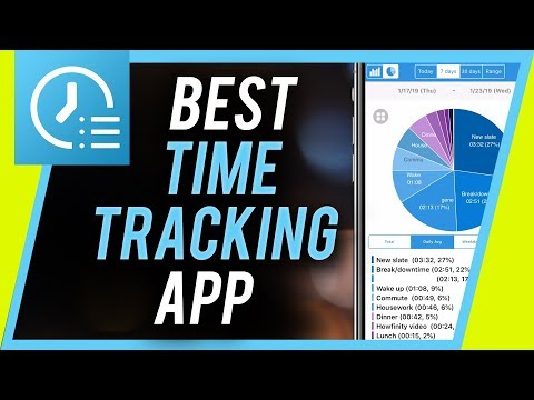 How to Track Time - - BEST time management app