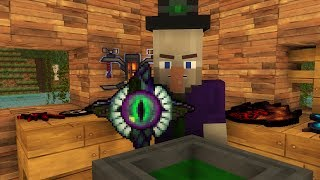 Witch Life / Villager Life 2  - Minecraft animation