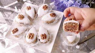 جديد حلويات الجزائرية 2018 صابلي الجوزة حصري شيف مروى