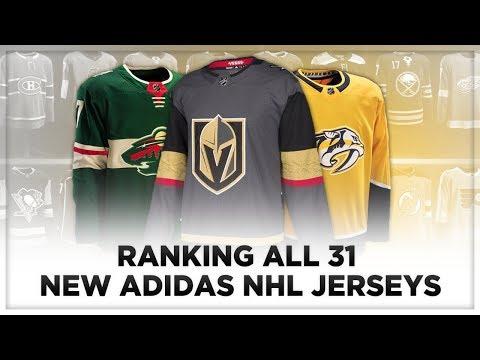 RANKING ALL 31 NEW ADIDAS NHL JERSEYS!
