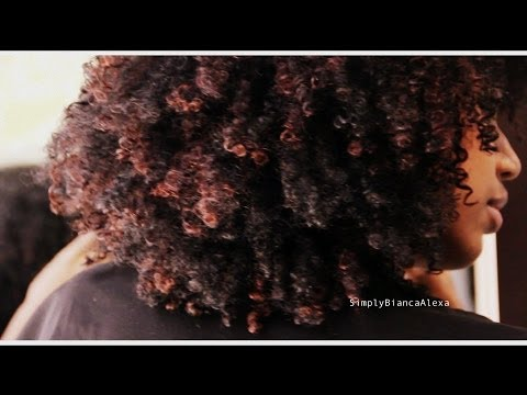Highlights on Natural Hair​​​ | simplybiancaalexa​​​