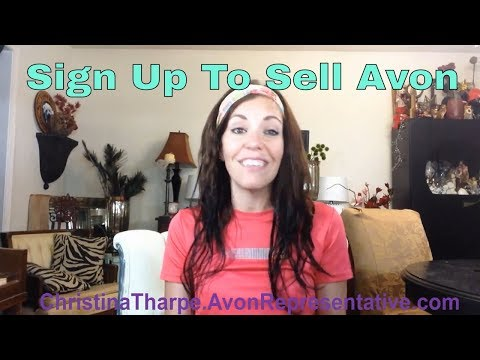 Avon Review | Sign up to sell Avon Online | Buy Avon Online | Become a Avon Rep | Christina Tharpe