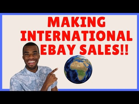 Making BIG MONEY quickly With eBay International Shipping