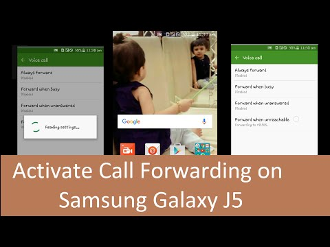 How to Activate Call Forwarding on Samsung Galaxy J5