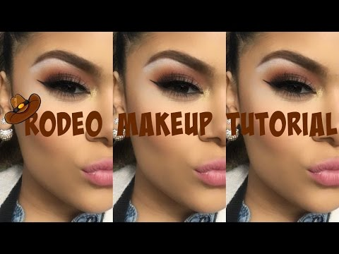 Rodeo Makeup / Vlog