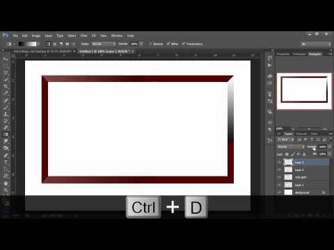 Photoshop hindi tutorial, episode 16, Photo Gallery frame