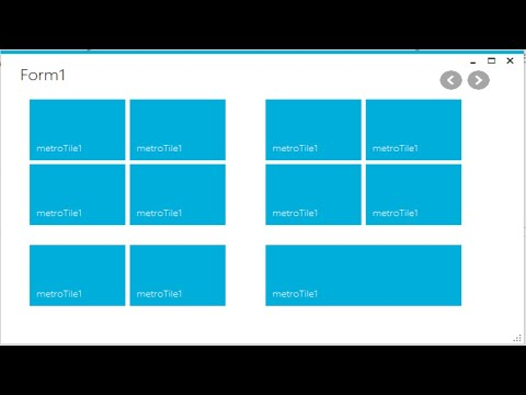 C# Tutorial - Download and Install Metro Framework | FoxLearn
