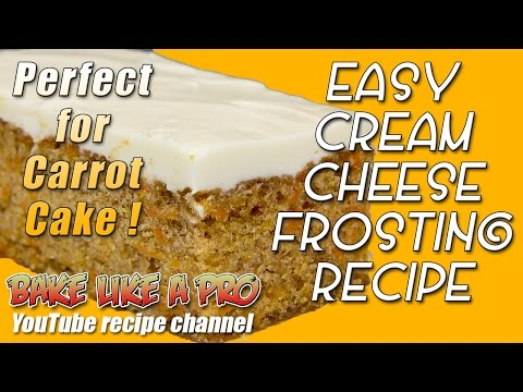 Easy Vanilla Cream Cheese Frosting Recipe By BakeLikeAPro