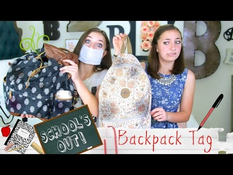 School's-Out Backpack Tag | Brooklyn and Bailey