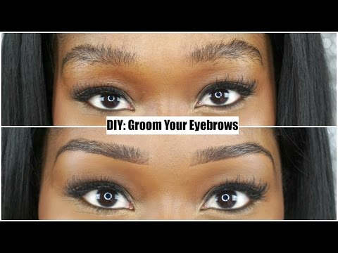 DIY: Groom & Shape Eyebrows With a Razor Blade + Eyebrow Routine!