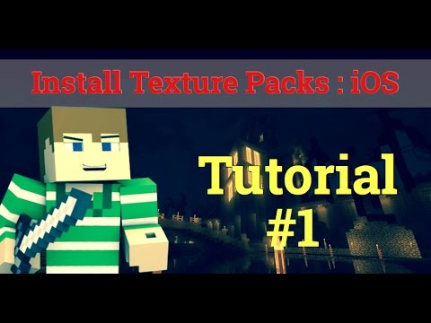 How to download TexturePacks in MCPE | iOS with iFile no PC