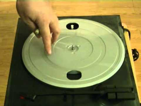 How to Replace a Turntable Belt on a Belt Drive Turntable